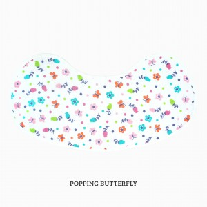 Popping Butterfly Burp & Bib