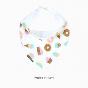 SWEET TREATS BANDANA BIB