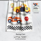 RACING CARS LITTLE TERRY TOWEL