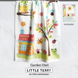 GARDEN OWL LITTLE TERRY TOWEL