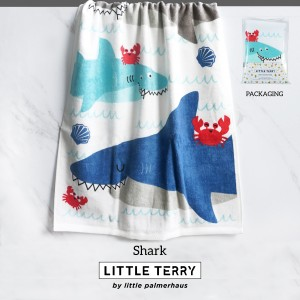 SHARK LITTLE TERRY TOWEL