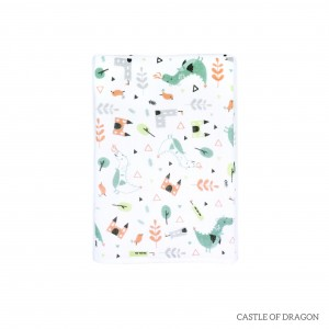 Castle Of Dragon Tottori Baby Towel