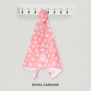 Royal Carriage PINK Hooded Towel