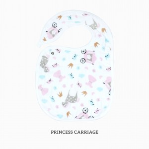 Princess Carriage Snappy Bib