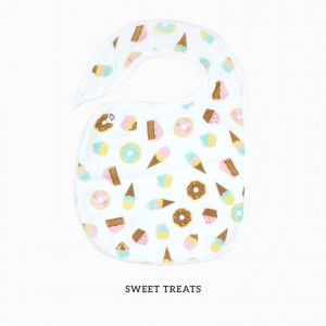 Sweet Treats Snappy Bib