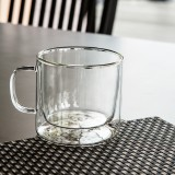 Handled Glass Mug