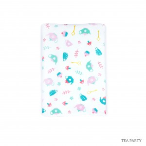 Tea Party Tottori Baby Towel