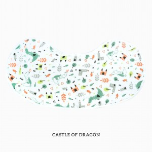 Castle of Dragon Burp & Bib
