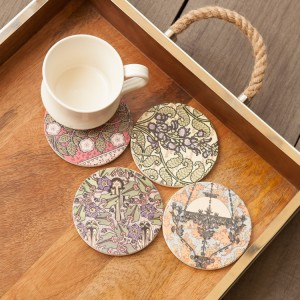 Paisley Coaster Set