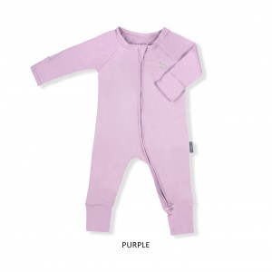 PURPLE Baby Sleepsuit