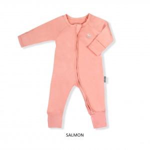 SALMON Baby Sleepsuit
