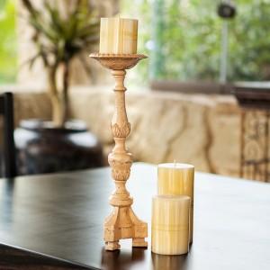 Vintage Pillar Candle Holder