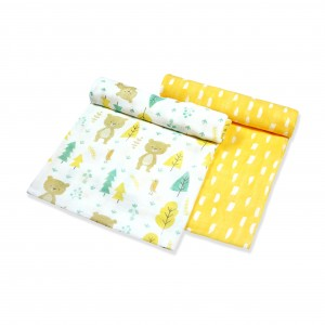 Into The Woods Muslin Swaddle Set of 2 (Girl)