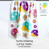 GARDEN HEDGEHOG LITTLE TERRY TOWEL