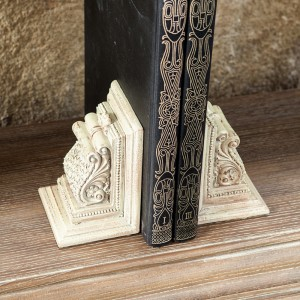Ornament Pillar Bookend