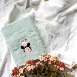 Minnie Tsum Tsum GREEN Mason Baby Towel