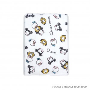 Mickey & Friends Tsum Tsum Tottori Baby Towel