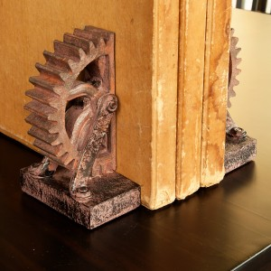 Wheel Bookend