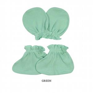 GREEN Mittens & Booties