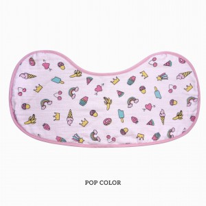 Pop Color Burp & Bib