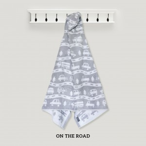 On The Road GREY Hooded Towel