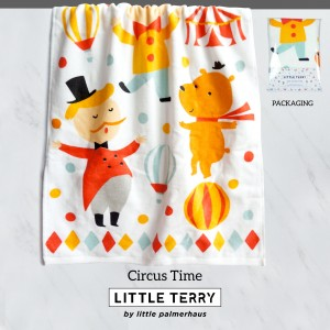 CIRCUS TIME LITTLE TERRY TOWEL