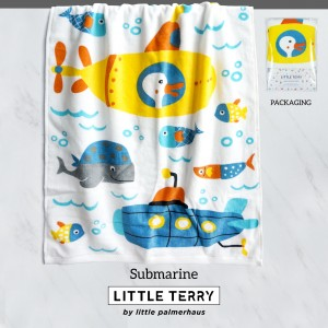 SUBMARINE LITTLE TERRY TOWEL
