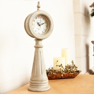 White Pillar Clock