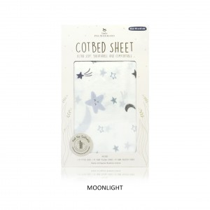 MOONLIGHT Cotbed Sheet