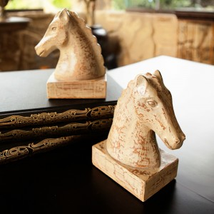 Vintage Horse Decor, Set of 2