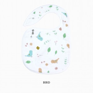 Bird Snappy Bib