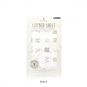 A TO Z Cotbed Sheet
