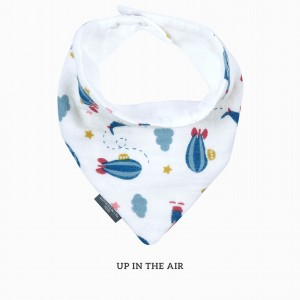 Up in The Air Bandana Bib