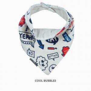 Cool Bubble Bandana Bib