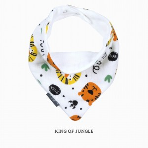 King Of Jungle Bandana Bib