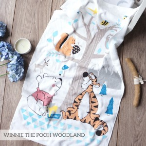 WOODLAND WINNIE THE POOH LITTLE TERRY TOWEL
