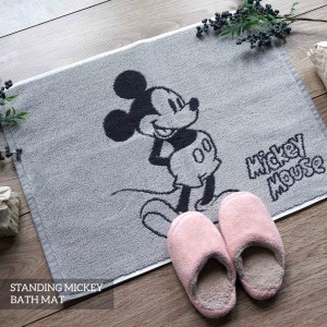 STANDING MICKEY GREY BATHMAT