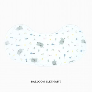 BALLON ELEPHANT Burp & Bib