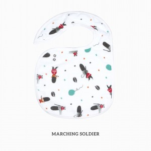 Marching Soldier Snappy Bib