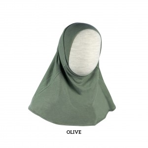 OLIVE GREEN Instant Hijab