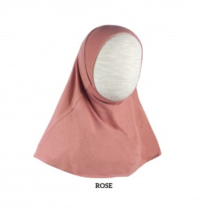 PINK ROSE Instant Hijab