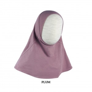 PURPLE PLUM Instant Hijab