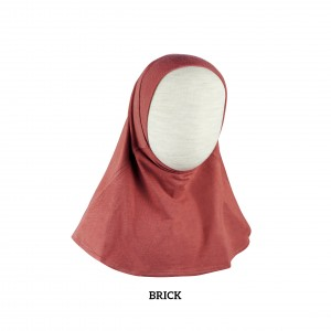 RED BRICK Instant Hijab