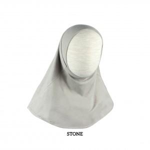 STONE GREY Instant Hijab