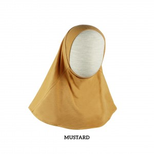 YELLOW MUSTARD Instant Hijab
