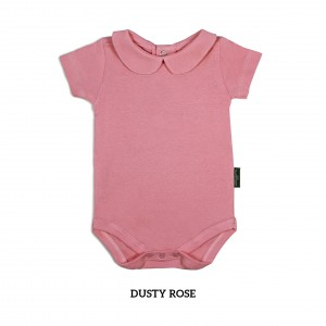DUSTY ROSE Girl Collar Bodysuit Short Sleeve (Jumper)