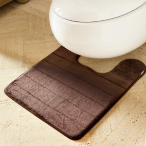 Dark Chocolate Microdry Contour Mat
