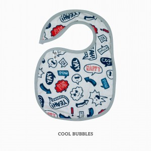 Cool Bubble Snappy Bib