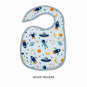 Moon Walker Snappy Bib