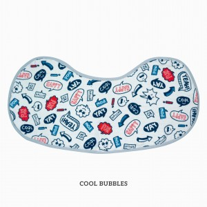 Cool Bubble Burp & Bib